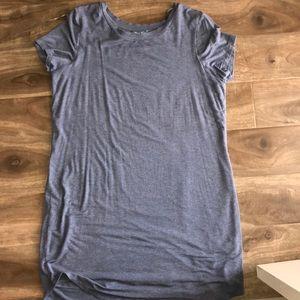Blue Tee shirt dress Size XL